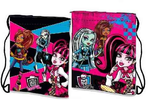 sac monster high 24x27cm