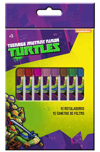 markers 10 pcs turtles