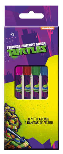 markers 6 pcs turtles