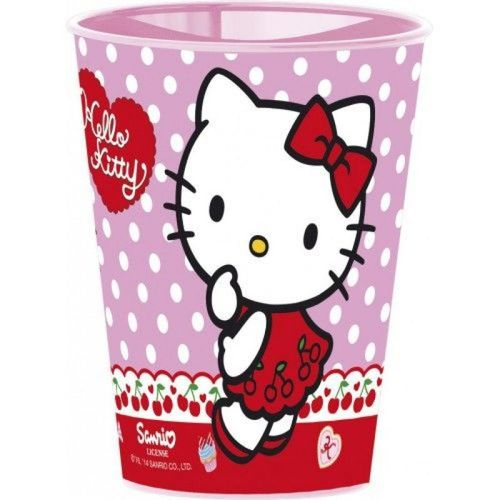 vaso 260ml kitty