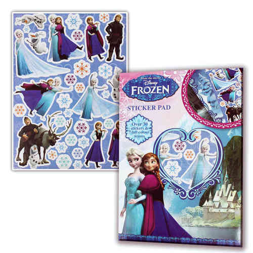 sticker pad frozen