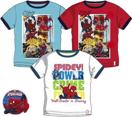 camiseta Spiderman 3-4-6-8