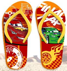 chanclas Cars 27/28 29/30 31/32 33/34
