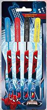 4 boligrafo gel Spiderman