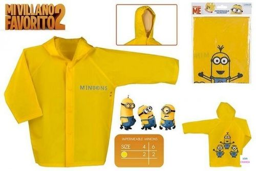 impermeable Minions 4-6