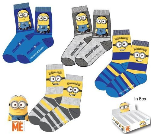 calcetines Minions 27/30 31/34