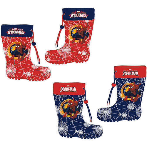 botas agua Spiderman 24-26-28-30-32-34