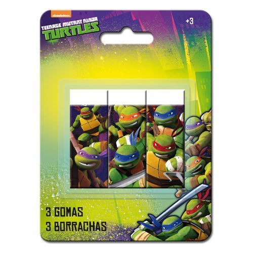 3 gomme turtles