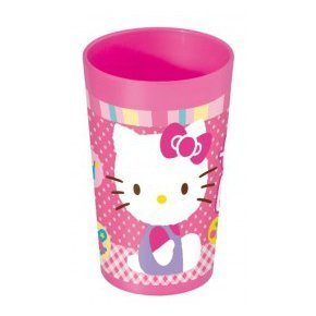vaso 270ml hello kitty
