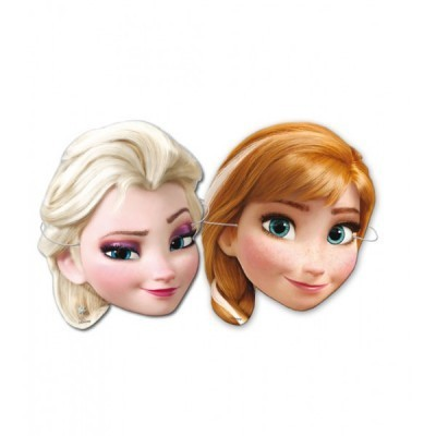 6 caretas Frozen