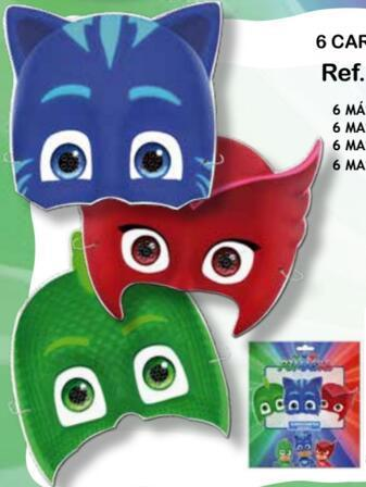6 careta P J Masks