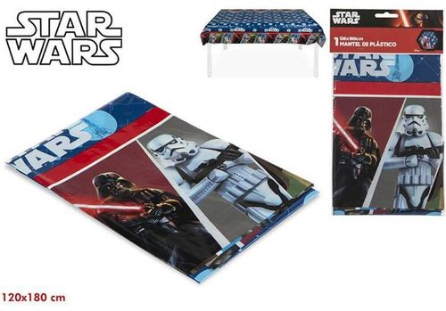 mantel plastico Star wars 120x180