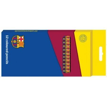 12 pencil color FC Barcelona