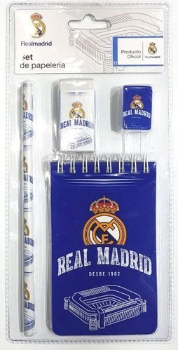 notebook + 3 pcs Real Madrid