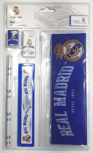 set stationery Real Madrid