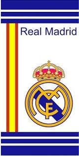 toalla algodon Real madrid 75x150