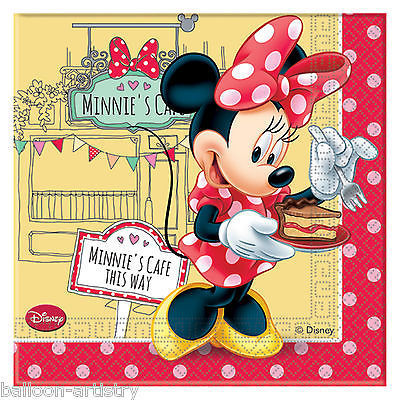 20 servilletas papel Minnie 33cm