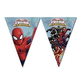 Guirlande plastique Spiderman 230cm