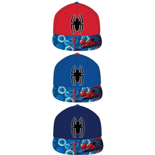 gorra HIP HOP Spiderman 54-56
