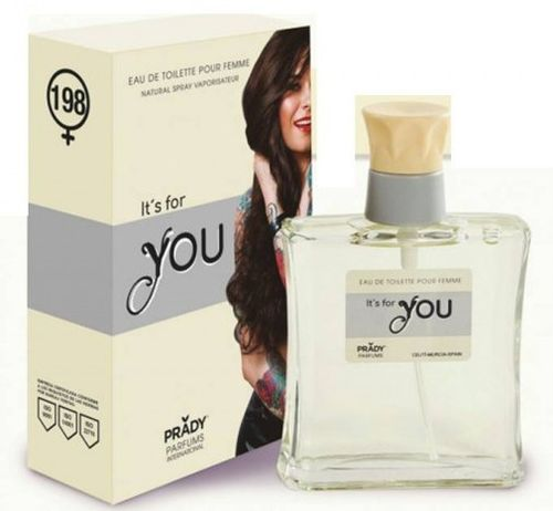 eau de toilette femme 100ml PRADY 198+ IT'S FOR YOU