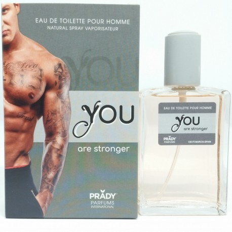 eau de toilette pour homme 100ml. PRADY You are stronger