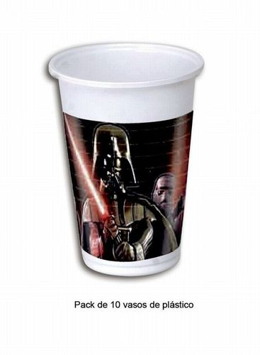 10 Gobelete plastique Star wars 200ml