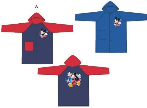 impermeable Mickey 2/3-4/5-5/6