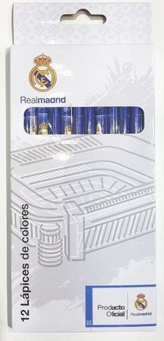 12 color pencils Real Madrid
