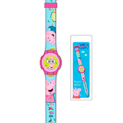 montre digital Peppa Pig