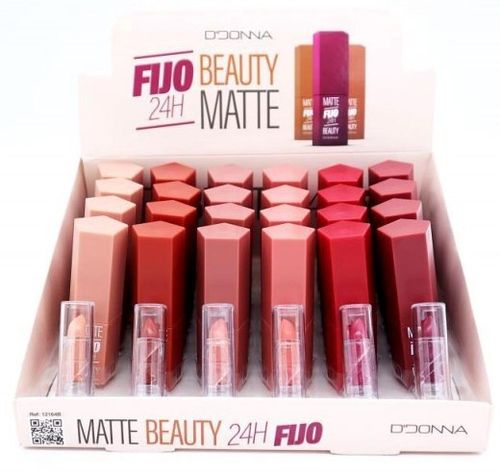 BARRA DE LABIOS BEAUTY MATTE 24H.(0.75€ UNIDAD) PACK 24 D'DONNA