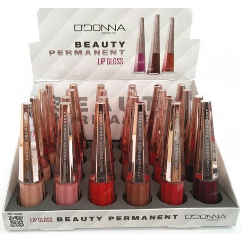 LIPGLOSS BEAUTY PERMANENT(0.65€ UNIDAD) PACK 24 D'DONNA