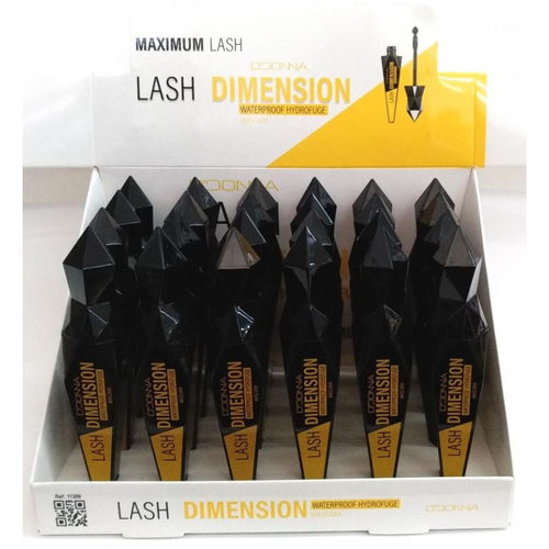 MASCARA LASH DIMENSION NEGRA(0.60€ UNIDAD) PACK 24 D'DONNA