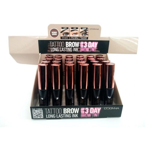 TATTOO BROW UP TO 3 DAY(0.59€ UNIDAD) PACK 24 D'DONNA