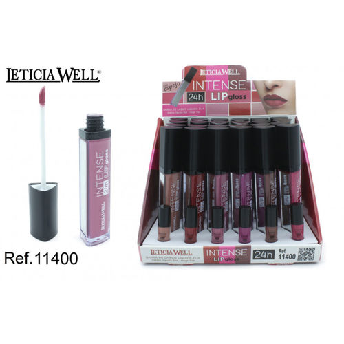 BARRA DE LABIOS INTENSE 24H. (0.75€ UNIDAD) PACK 24 LETICIA WELL
