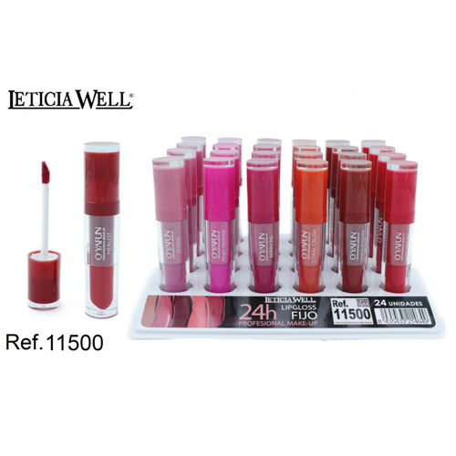 LIPGLOSS O'YAFUN FIJO 24H. (0.65€ UNIDAD) PACK 24 LETICIA WELL
