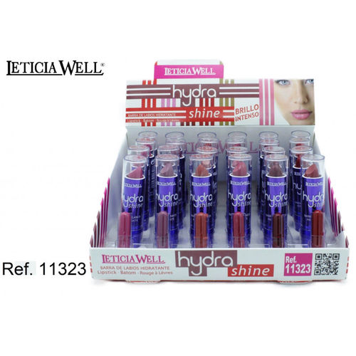 BARRA DE LABIOS HYDRA SHINE(0.50€ UNIDAD) PACK 24 LETICIA WELL