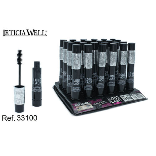 MASCARA DE PESTAÑAS NEGRA WASHABLE (0.80€ UNIDAD) PACK 24 LETICIA WELL