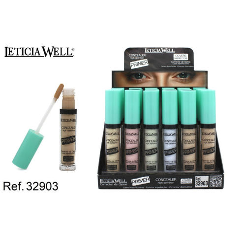 CORRECTOR DE OJERAS HIGH PRECISION (0.55€'UNIDAD) PACK 24 LETICIA WELL