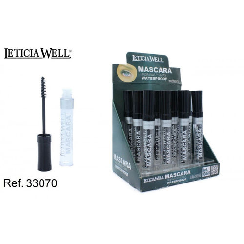 MASCARA TRANSPARENTE PARA PESTAÑAS Y CEJAS WATERPROOF (0.55€' UNIDAD)PACK 12 LETICIA WELL