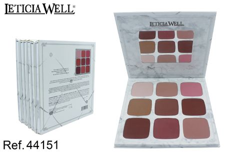 PALETA DE COLORETES CARLI BYEL (1.85€ UNIDAD) PACK 6 LETICIA WELL