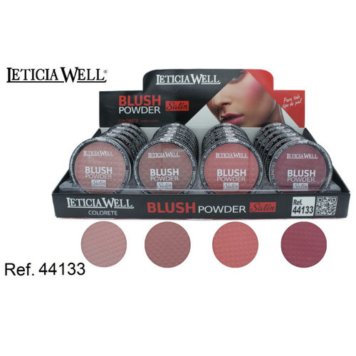 COLORETE SATIN 4 COLORES (0.65€ UNIDAD) PACK 24 LETICIA WELL