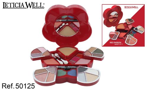 Cofre Maquillaje RED PASSION LETICIA WELL