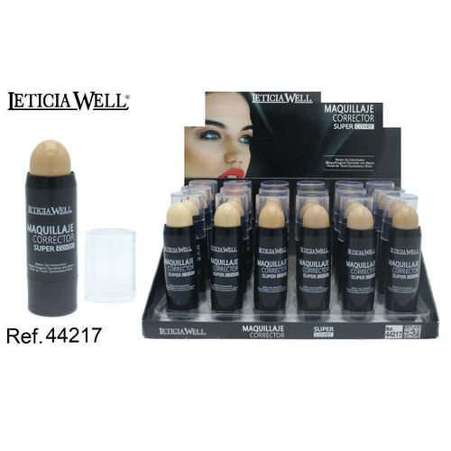 MAQUILLAJE CORRECTOR 6 COLORES (0.85€'UNIDAD) PACK 24 LETICIA WELL