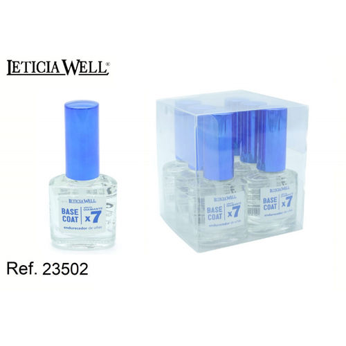 BASE COAT EFECTO DIAMANTE X7 (0.65€ UNIDAD)PACK 6 LETICIA WELL