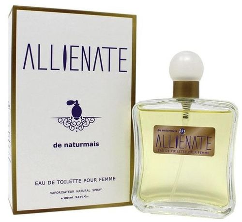 eau de toilette femme 100ml NATURMAIS 140+ allienate