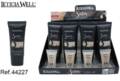 BASE DE MAQUILLAJE 4 COLORES(0.75€ UNIDAD) PACK 16 LETICIA WELL