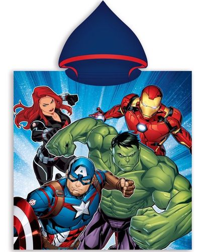 poncho polyester Avengers 50x100cm