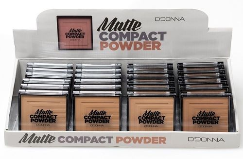 MAQUILLAJE COMPACTO 4 COLORES(0.73€ UNIDAD) PACK 24 D'DONNA