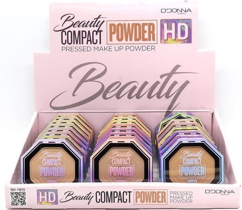 POLVO COMPACTO HD (0.75€ UNIDAD) PACK 24 D'DONNA