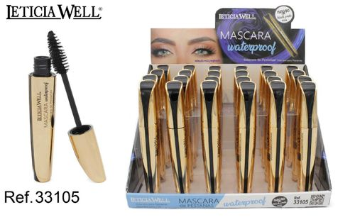 MASCARA DE PESTAÑAS NEGRA (0.75€) PACK 24 LETICIA WELL